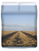 A View Of Interstate 40, Arizona Usa Duvet Cover