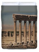 A View Of More Ruins From The Columns Duvet Cover