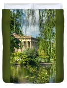 A View Of The Parthenon 13 Duvet Cover