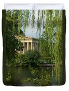 A View Of The Parthenon 3 Duvet Cover