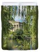 A View Of The Parthenon 5 Duvet Cover