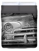 A Vintage Junk Plymouth Auto Duvet Cover