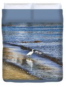 A Visit To The Beach Duvet Cover
