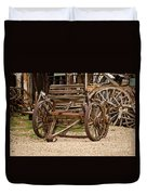 A Wagon And Wheels Duvet Cover