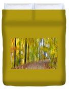 A Walk In The Woods Duvet Cover