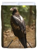 A Wedge-tailed Eagle At A Wild Bird Duvet Cover