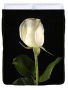 A White Rose Rosaceae Duvet Cover