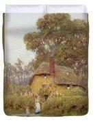 A Wiltshire Garden Duvet Cover