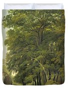 A Wooded Landscape  Duvet Cover