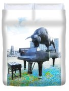 A World Of Art And Music Duvet Cover