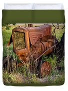 Abandonded Farm Tractor 1 Duvet Cover