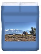 Abandonded Homestead In San Luis Valley Duvet Cover
