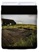 Abandoned Farm House Duvet Cover