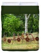 Abandoned Hay Rake 2 Duvet Cover