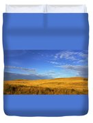 Abandoned House On The Prairies Duvet Cover