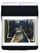 Abbotts Nature Trail Duvet Cover