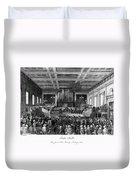Abolition Convention, 1840 Duvet Cover