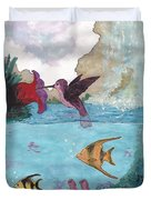 Above And Below Duvet Cover