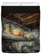 Above The Stove Duvet Cover by Jutta Maria Pusl