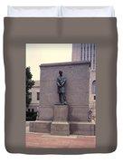 Abraham Lincoln Statue Duvet Cover