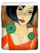 Women 447 - Marucii Duvet Cover