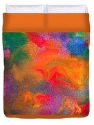 Abstract - Crayon - Melody Duvet Cover