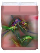 Abstract 101211b Duvet Cover