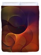 Abstract 102611c Duvet Cover