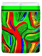 Abstract 421 Duvet Cover