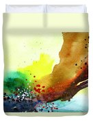 Abstract 5 Duvet Cover by Anil Nene