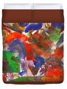Abstract - Acrylic - Synthesis Duvet Cover
