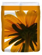 Abstract Black Eyed Susan II Duvet Cover