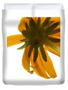 Abstract Black Eyed Susan IIi Duvet Cover