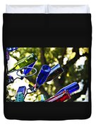 Abstract Bottle Structure Duvet Cover