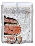 Abstract Brick Wall II Duvet Cover