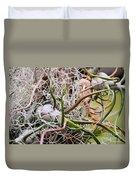 Abstract Caput Medusae Duvet Cover