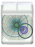 Abstract Circle Art Duvet Cover