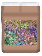 Abstract Colors Pale Duvet Cover