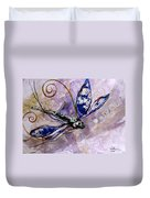 Abstract Dragonfly 9 Duvet Cover