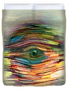 Abstract Eye Duvet Cover