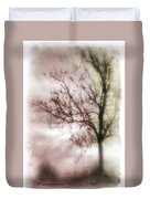 Abstract Fall Trees Duvet Cover