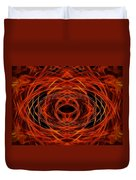 Abstract Fire Duvet Cover