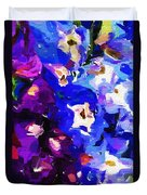 Abstract Floral 031112 Duvet Cover