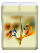 Abstract Flower 2 Duvet Cover