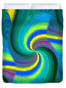 Abstract Fusion 108 Duvet Cover