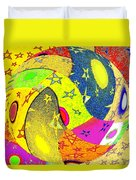 Abstract Fusion 110 Duvet Cover