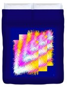 Abstract Fusion 127 Duvet Cover