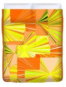 Abstract Fusion 14 Duvet Cover