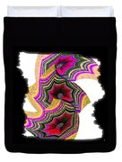 Abstract Fusion 154 Duvet Cover