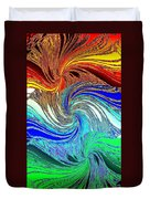 Abstract Fusion 159 Duvet Cover